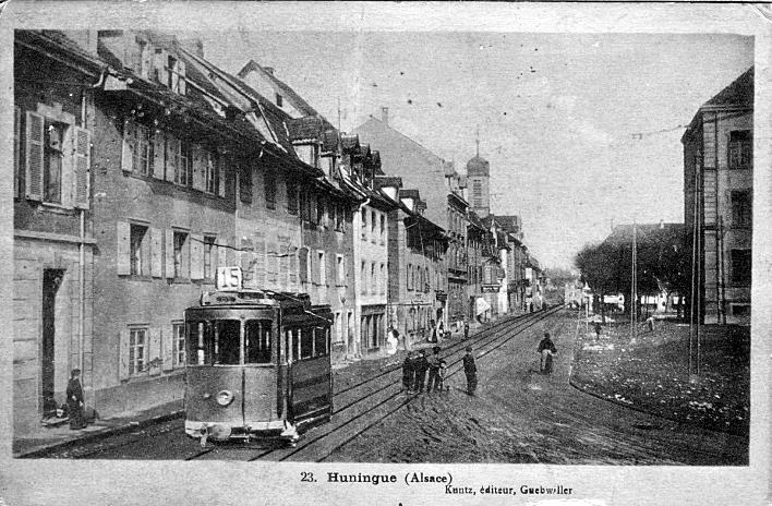 Rue Barbanègre um 1919