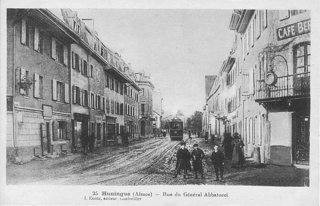 Rue du Général Abbattucci um 1913