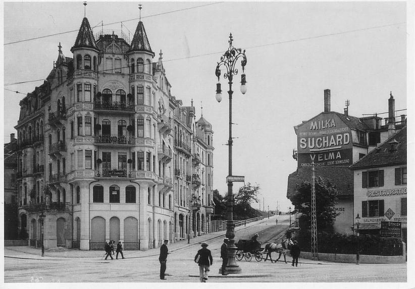 Innere Margarethenstrasse um 1905