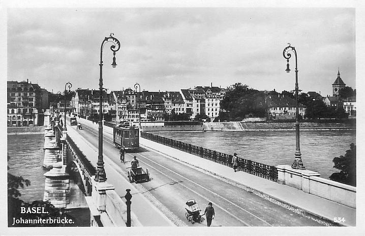 Johanniterbrücke um 1923