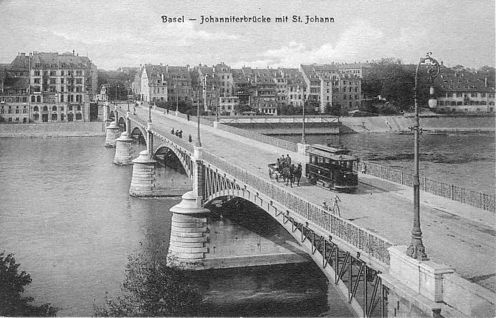 Johanniterbrücke um 1902