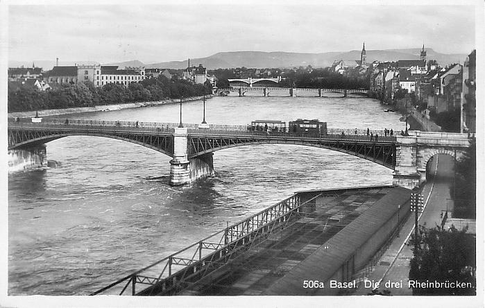 Johanniterbrücke um 1928