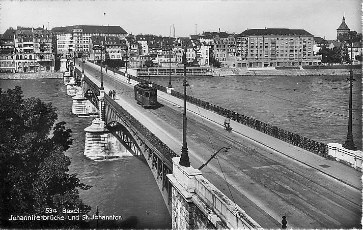 Johanniterbrücke um 1938