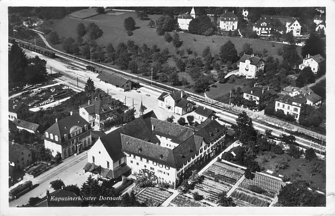 Kapuzinerkloster um 1932