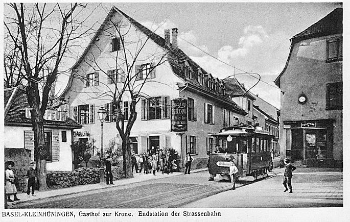 Kleinhünigen um 1900