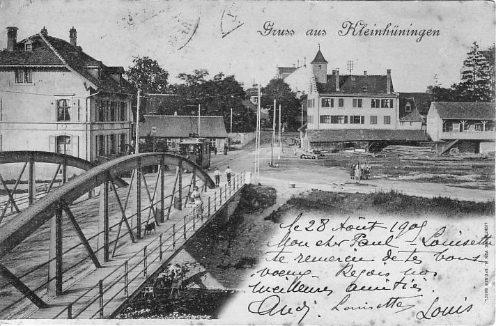 Kleinhüningen um 1900