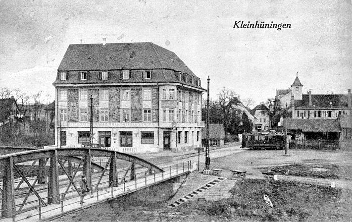 Kleinhüningen um 1928