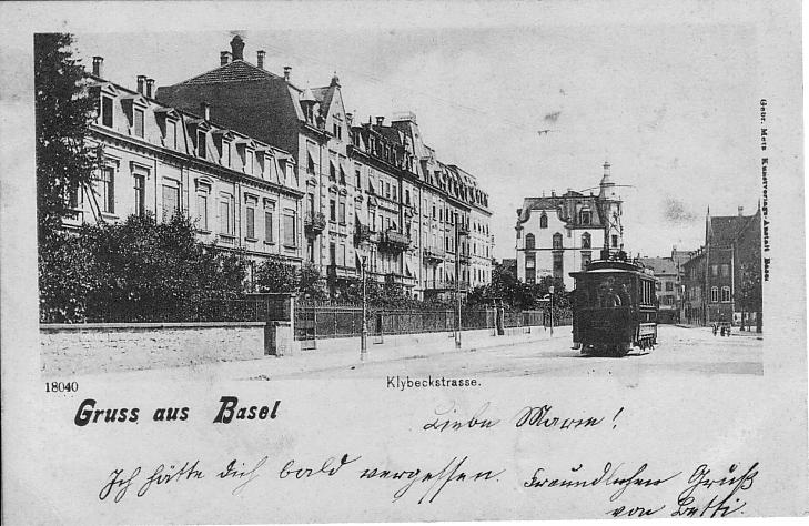 Klybeckstrasse um 1900