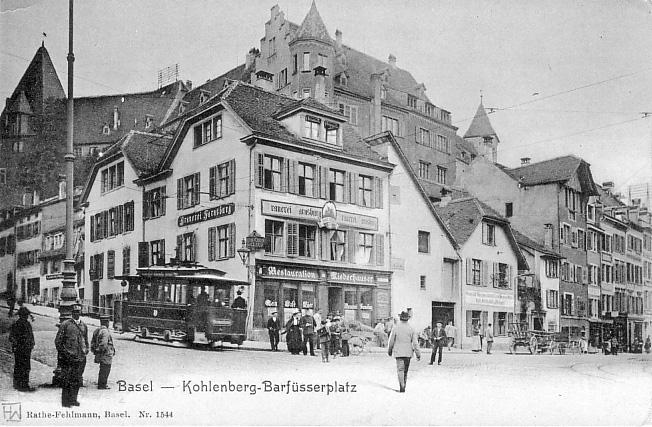 Kohlenberg um 1900