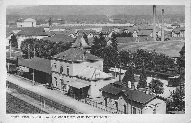 Bahnhof um 1935