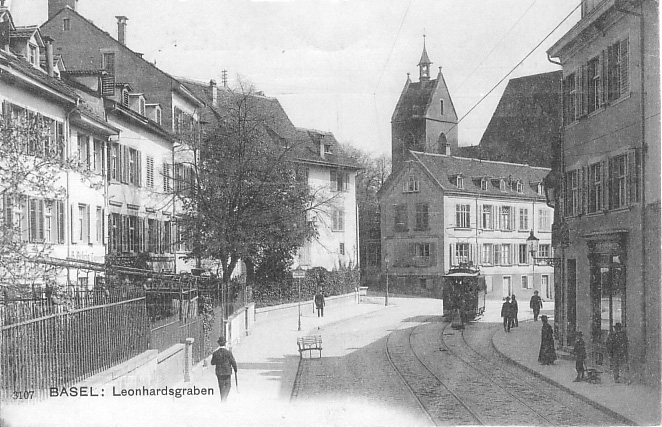 Leonhardsgraben um 1905