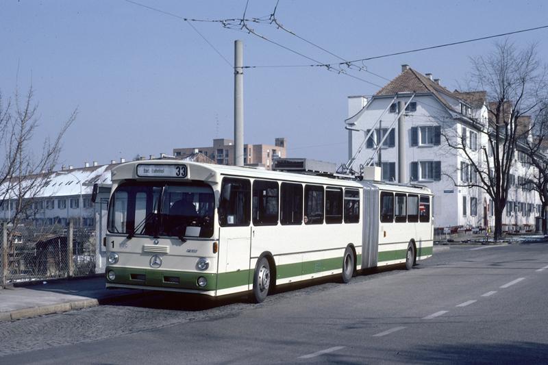 MB O 305 GT Nr. 1