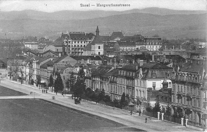 Margarethenstrasse um 1904