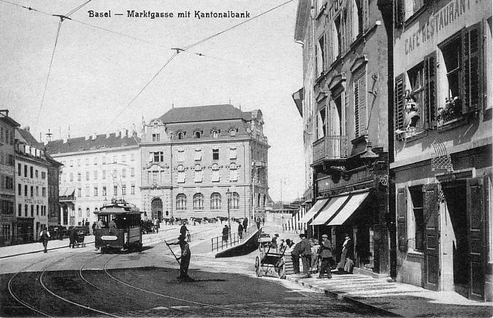 Marktgasse um 1901