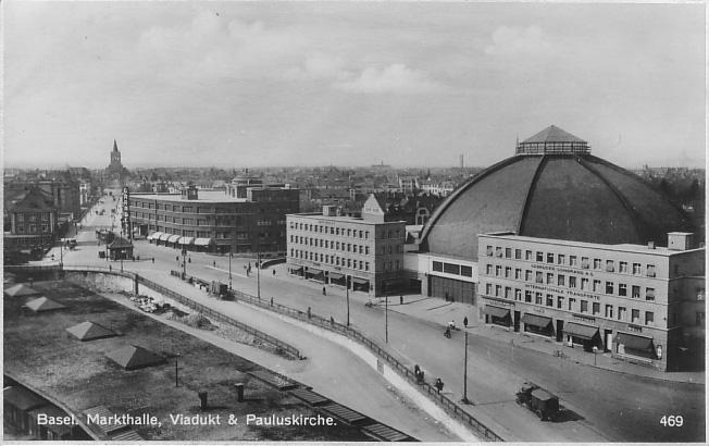Markthalle um 1928