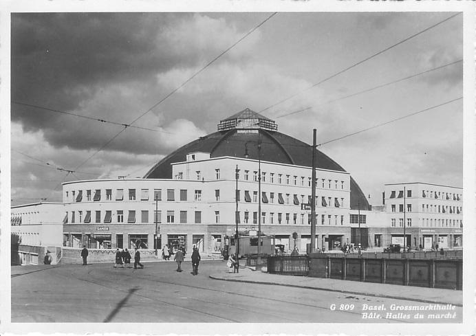 Markthalle um 1930