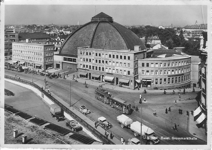 Markthalle um 1946