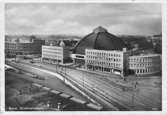 Markthalle um 1931