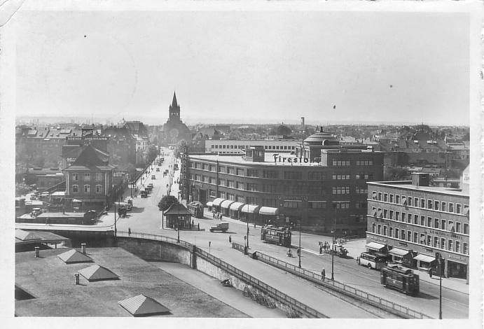 Markthallenkreuzung um 1934