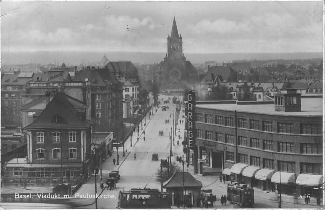 Markthallenkreuzung um 1930