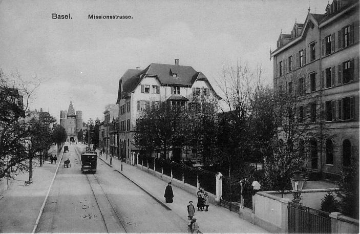 Missionsstrasse um 1902