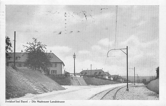 Landstrasse um 1935
