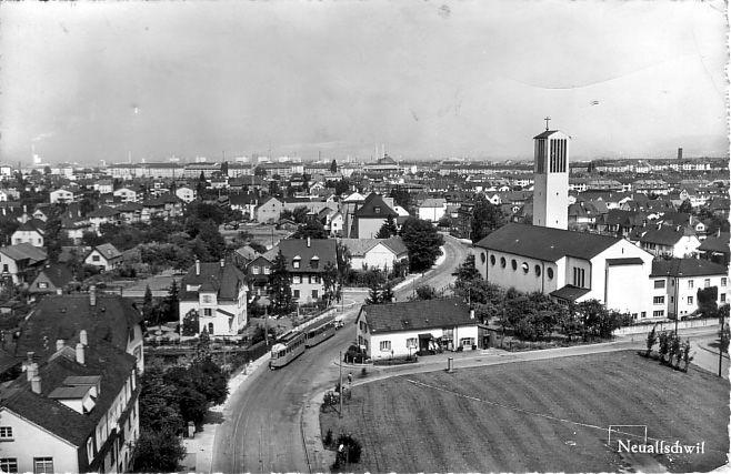 Neuallschwil um 1952