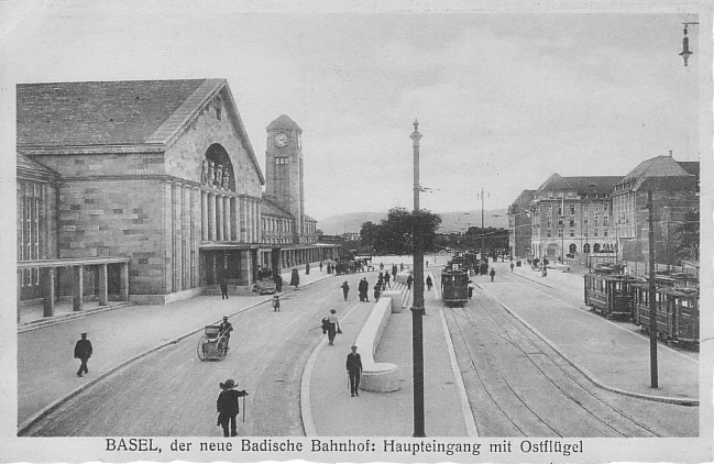 Neuer Badischer Bahnhof um <a href=