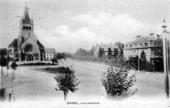 Pauluskirche um 1905