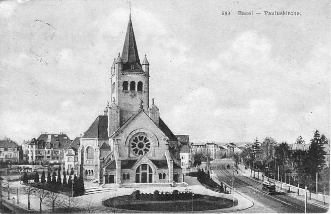 Pauluskirche um 1915