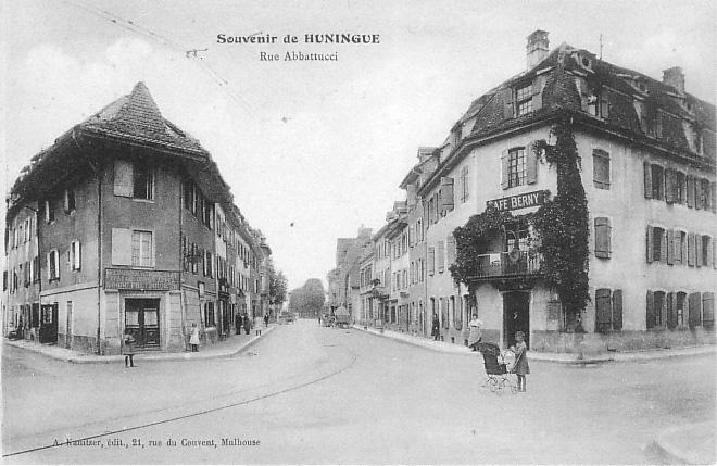 Rue Abbattucci um 1911