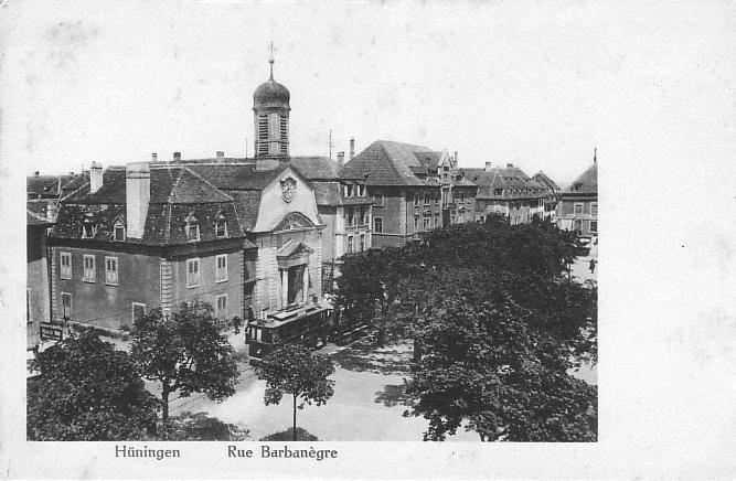 Rue Barbanègre um 1913
