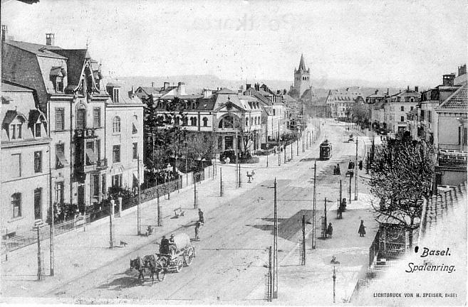 Spalenring um 1906