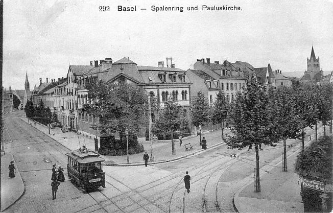 Spalenring um 1910
