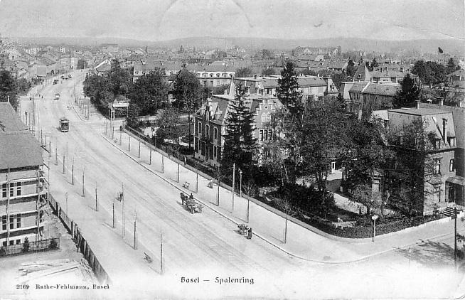 Spalenring um 1904