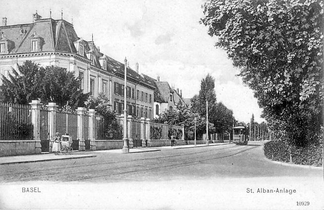 St. Alban-Anlage um 1898