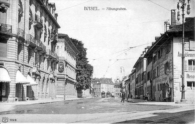 St-Alban-Graben um 1905