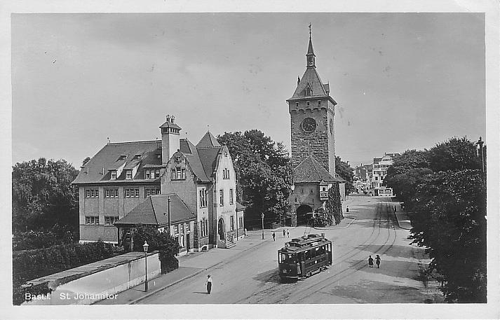 St. Johanns-Tor um 1922