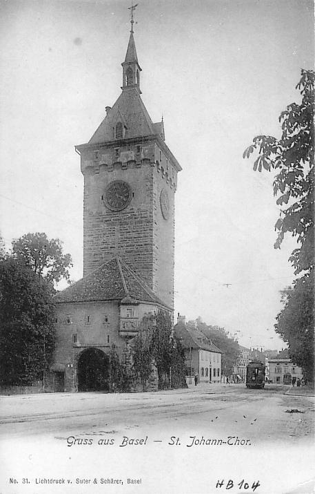 St. Johanns-Tor um 1901