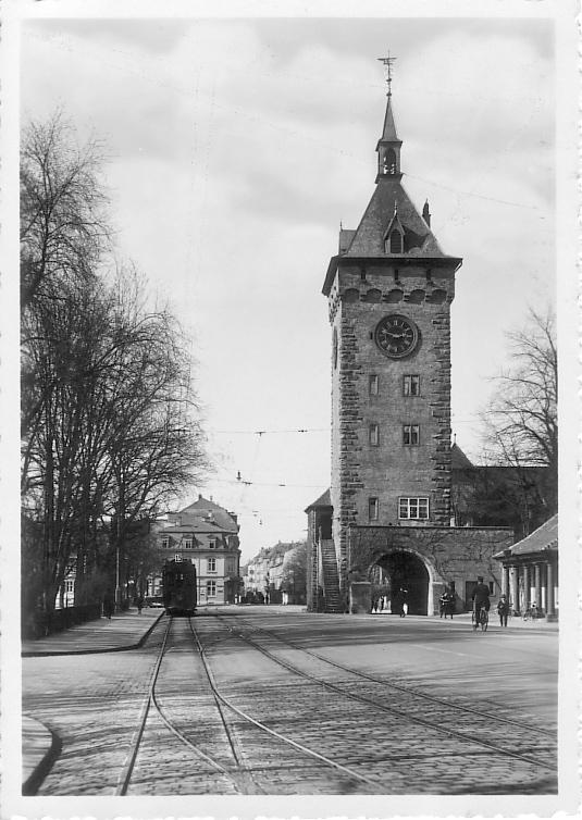 St. Johanns-Tor um 1934