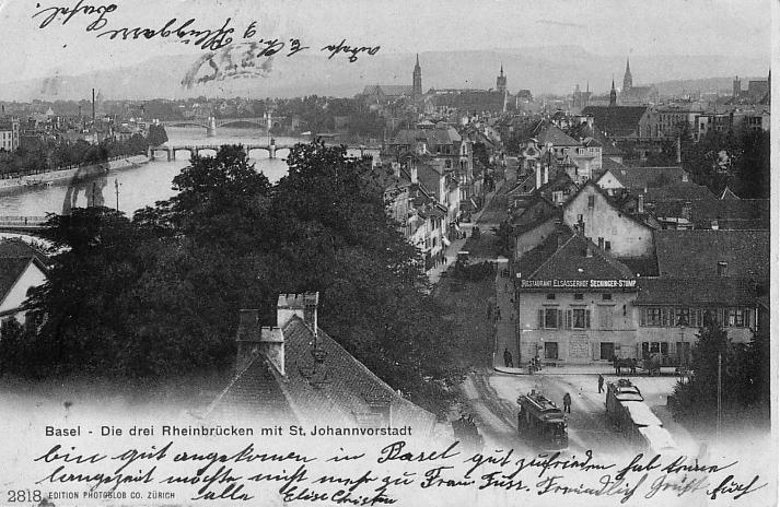 St. Johanns-Vorstadt um 1903
