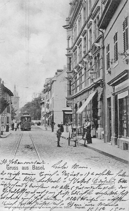 St. Johanns-Vorstadt um 1900