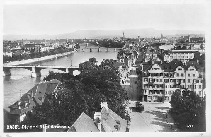 St. Johanns-Vorstadt um 1928