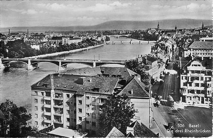 St. Johanns-Vorstadt um 1935