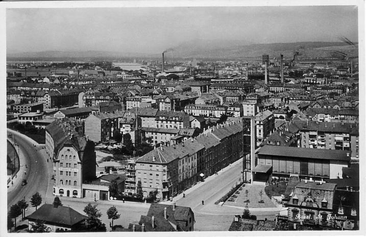 St. Johann-Quartier um 1940