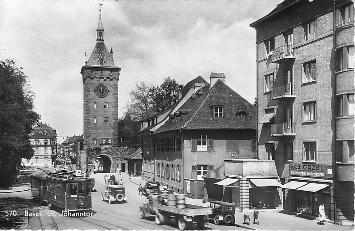 St. JohannsTor um 1932