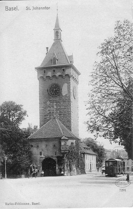 St. Johanns-Tor um 1905