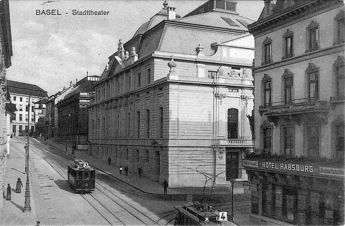 Steinenberg um 1911