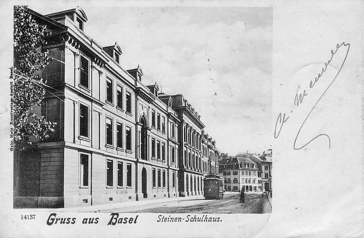 Theaterstrasse um 1903