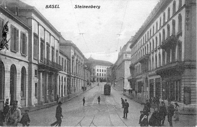 Steinenberg um 1913
